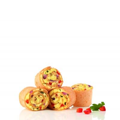 MINI TORTILLA EGG & CHEESE