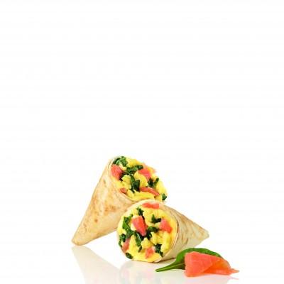 Mini Wrap Salmon & Egg